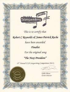 USA Songwriting Competition award